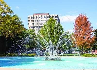 UWM Fountain
